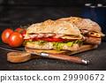 Delicious ciabatta sandwich 29990672