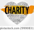 单词 慈善 拼贴 29990831