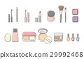 矢量 化妝品 盥洗用品 29992468