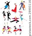 Traditional ethnic dances. 29993116