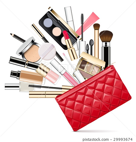 Vector Makeup Bag 29993674