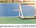 empty outdoor public outdoor futsal court 29993960