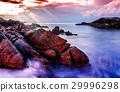 Seascape landscape nature in twilight 29996298