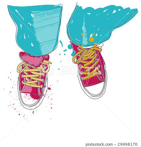 Vector - Pair of sneakers 29998170