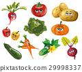 蔬菜 卡通 矢量 29998337
