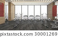 3d rendering wood fitness and gym with sand bag 30001269