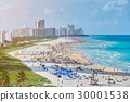 Aerial view in Miami beach 30001538