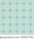 Monogram Seamless Vector Pattern background. 30003761