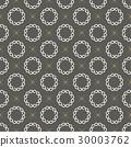 Monogram Seamless Vector Pattern background. 30003762