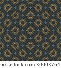 Monogram Seamless Vector Pattern background. 30003764