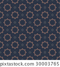 Monogram Seamless Vector Pattern background. 30003765