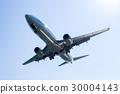 飛機降落 30004143