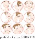 化妆的女人 30007119