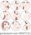 化妆的女人 30007121