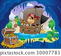 Boat with pirate monkey theme 4 30007783