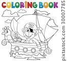 coloring book boat 30007785
