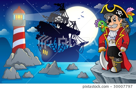 Night pirate scenery 3 30007797