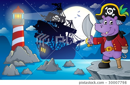 Night pirate scenery 4 30007798