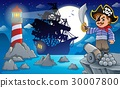 Night pirate scenery 6 30007800