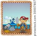 羊皮紙 海盜 猴子 30007807