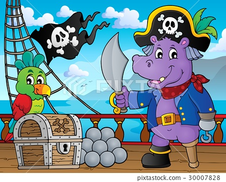 Pirate hippo theme 3 30007828