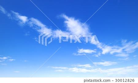 藍天天空雲彩春天天空背景材料4月拷貝空間 30012826