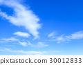 藍天天空雲彩春天天空背景材料4月拷貝空間 30012833