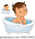 bath, child, vector 30013001