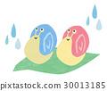 雨和蝸牛 30013185