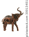 isolated statue elephant 30013401
