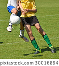 Children are playing soccer 30016894
