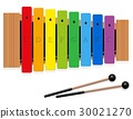Xylophone C Major Scale Rainbow Colored 30021270
