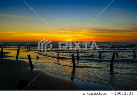 台灣雲林台西夢幻沙灘 30022533