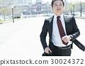 미들 사업가 달리는 도쿄역 30024372