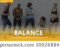 Wellbeing Fitness Healthy Lifestyle Icon 30026884