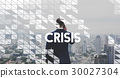 Businessman Investment Risk Crisis Word 30027304
