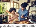 面包房 面团 面粉 30027807