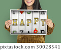 Slot Machine Gamble Happy Dream Smile 30028541