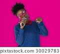 African Woman Vocal Singing Music Microphone 30029783
