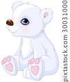 animal, polar, bear 30031000