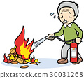 วัยชรา,เครื่องดับเพลิง,ผู้สูงอายุ 30031268