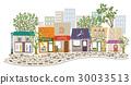 shopping strip, shop, townscape 30033513