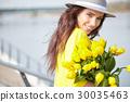 花束 女性 女 30035463