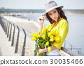 花束 女性 女 30035466