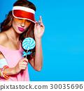 candy, female, lady 30035696