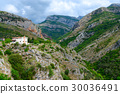 Mountains in vicinity of city Bar, Montenegro 30036491
