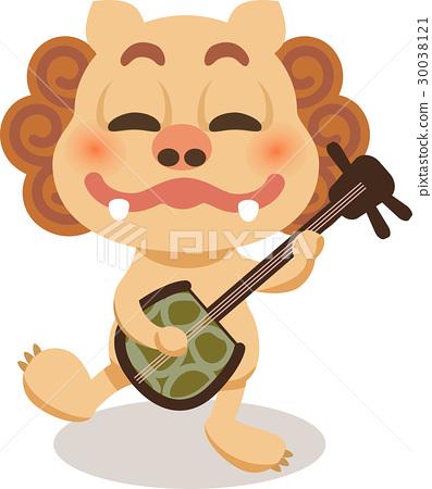 除魔獅 風獅爺 招福獅 30038121