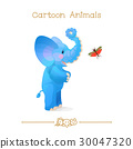 african, elephant, grasshopper 30047320