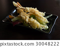 Tempura shrimps fried japanese food 30048222