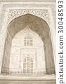 인도 세계 유산 '타지 마할'의 외관 디자인 30048593